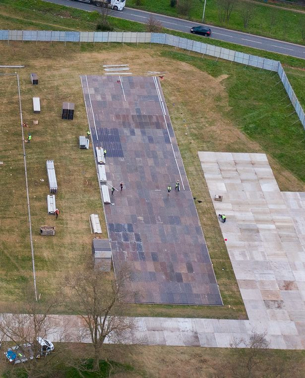COVID-19: UK builds huge morgue the size of two football pitches