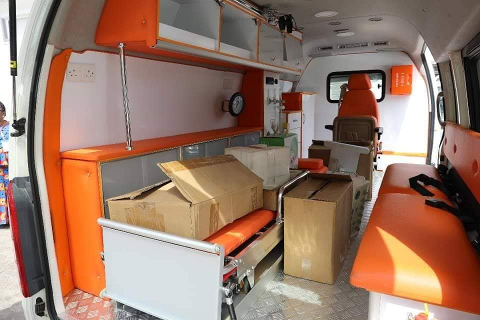 COVID-19: Oyedepo extends giving to NCDC, donates ambulance, hospital equipment