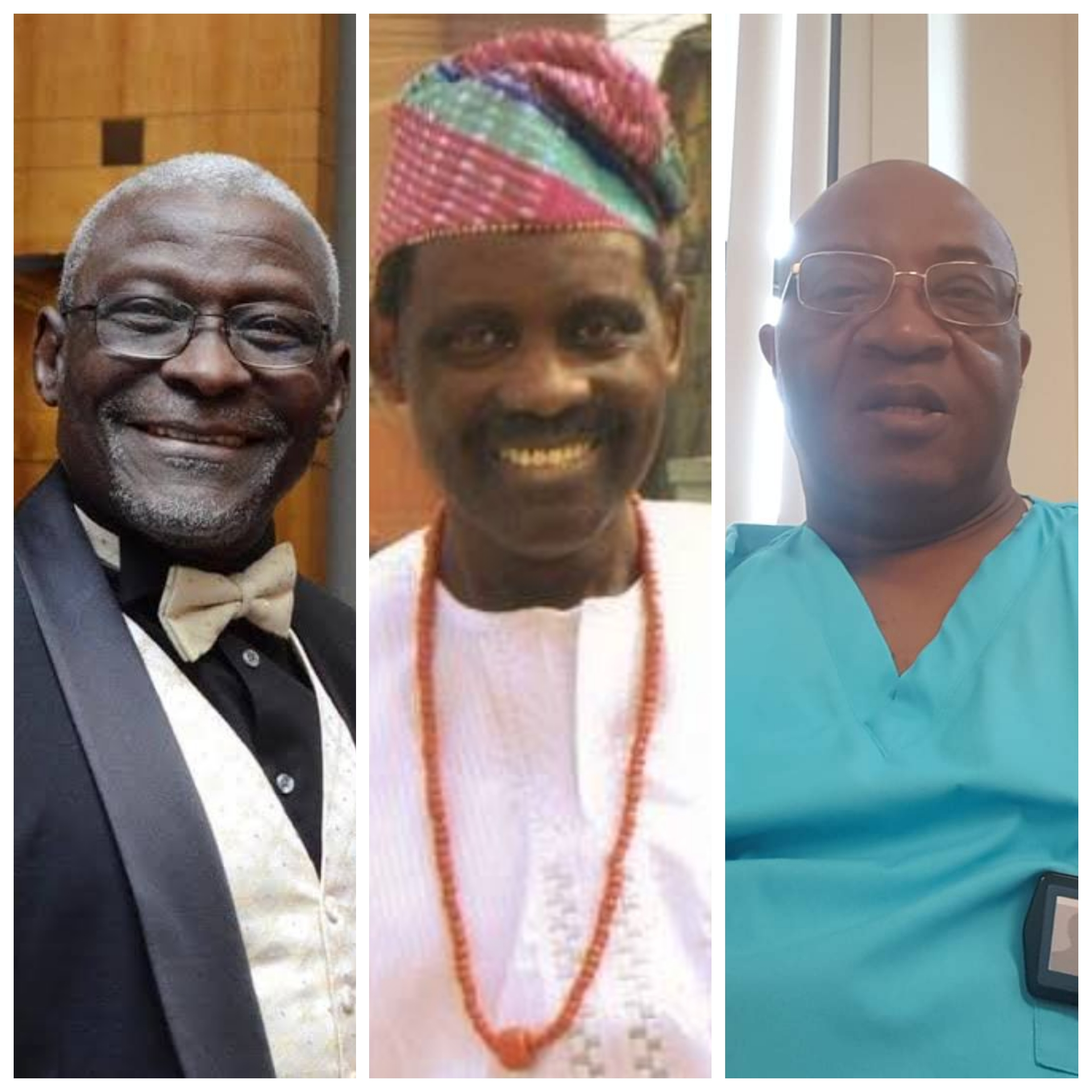 The three Nigerian doctors who died from COVID-19