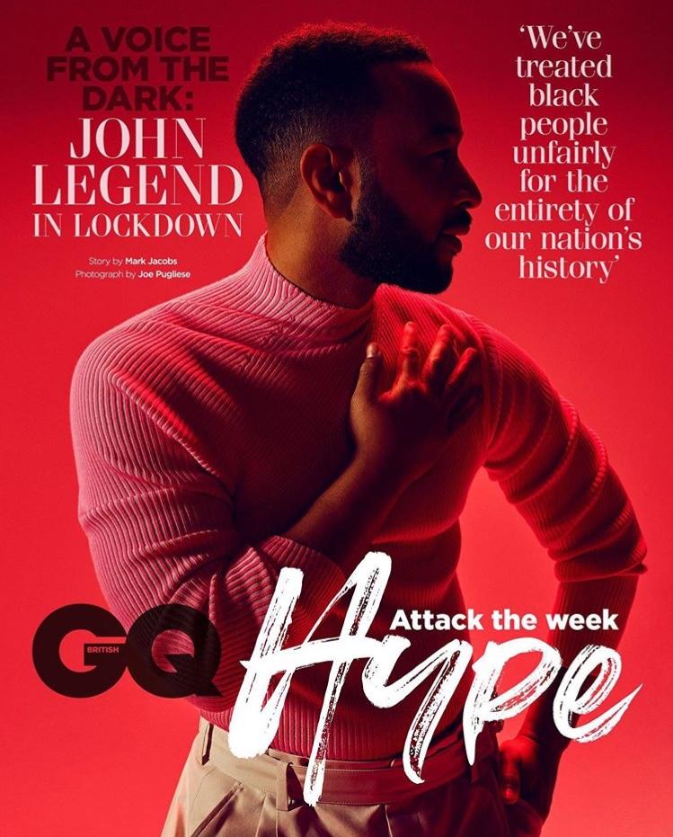 John Legend talks politics, music and family with British GQ Hype