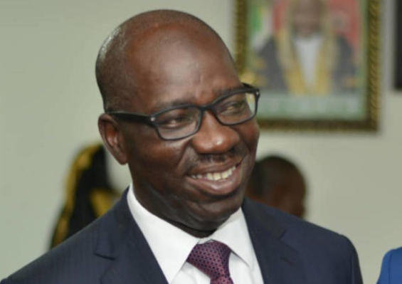 Edo polls: Obaseki leads with almost 100,000 votes after 13 local govts