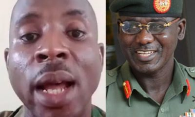 Army arrests soldier for saying Buratai, security chiefs have failed Nigerians (Video)