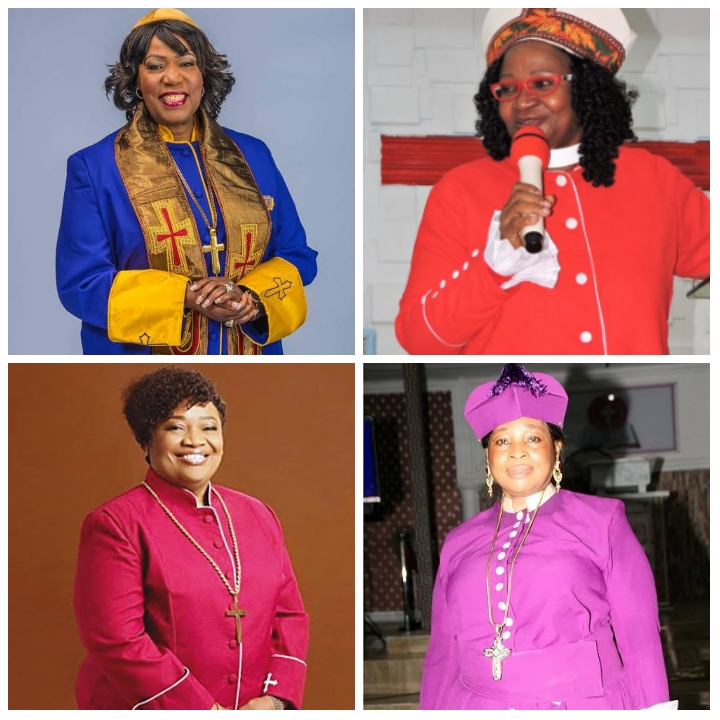 Meet Nigeria's only four female Bishops