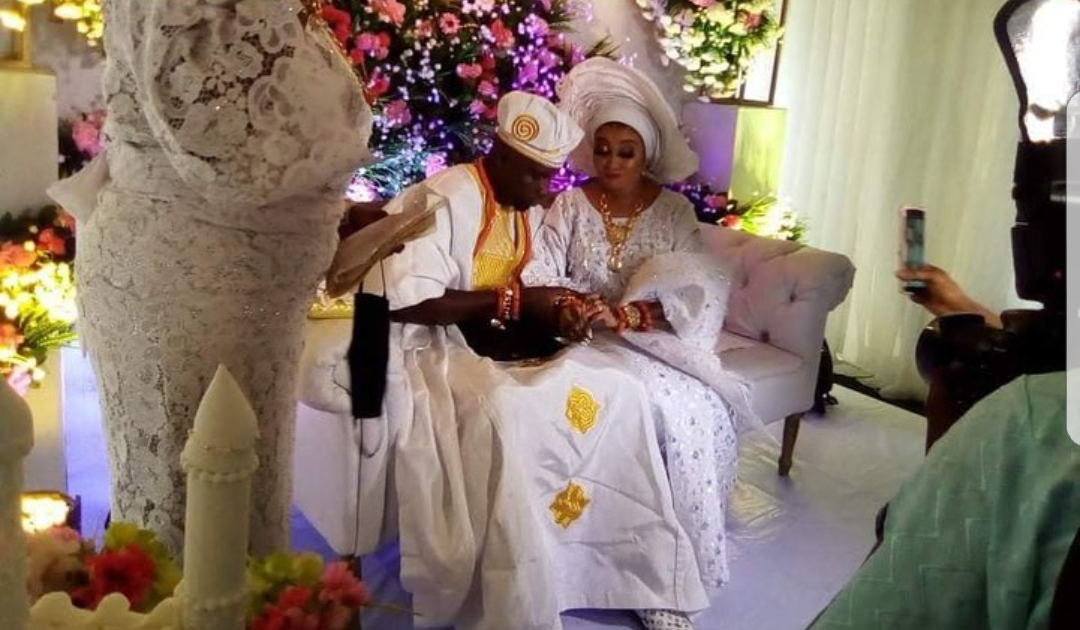 Actress, entrepreneur, Lizzy Anjorin ties the knot