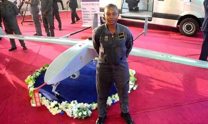 Meet Ofodile Anulika, designer of Nigeria's first indigenous military-grade aerial vehicle
