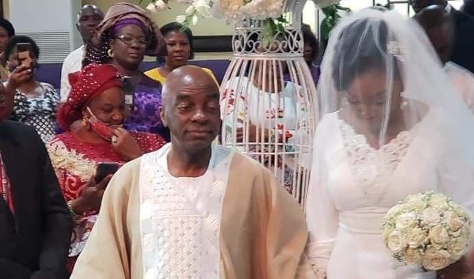 Bishop Oyedepo's last child, Joys Priscillia ties the knot
