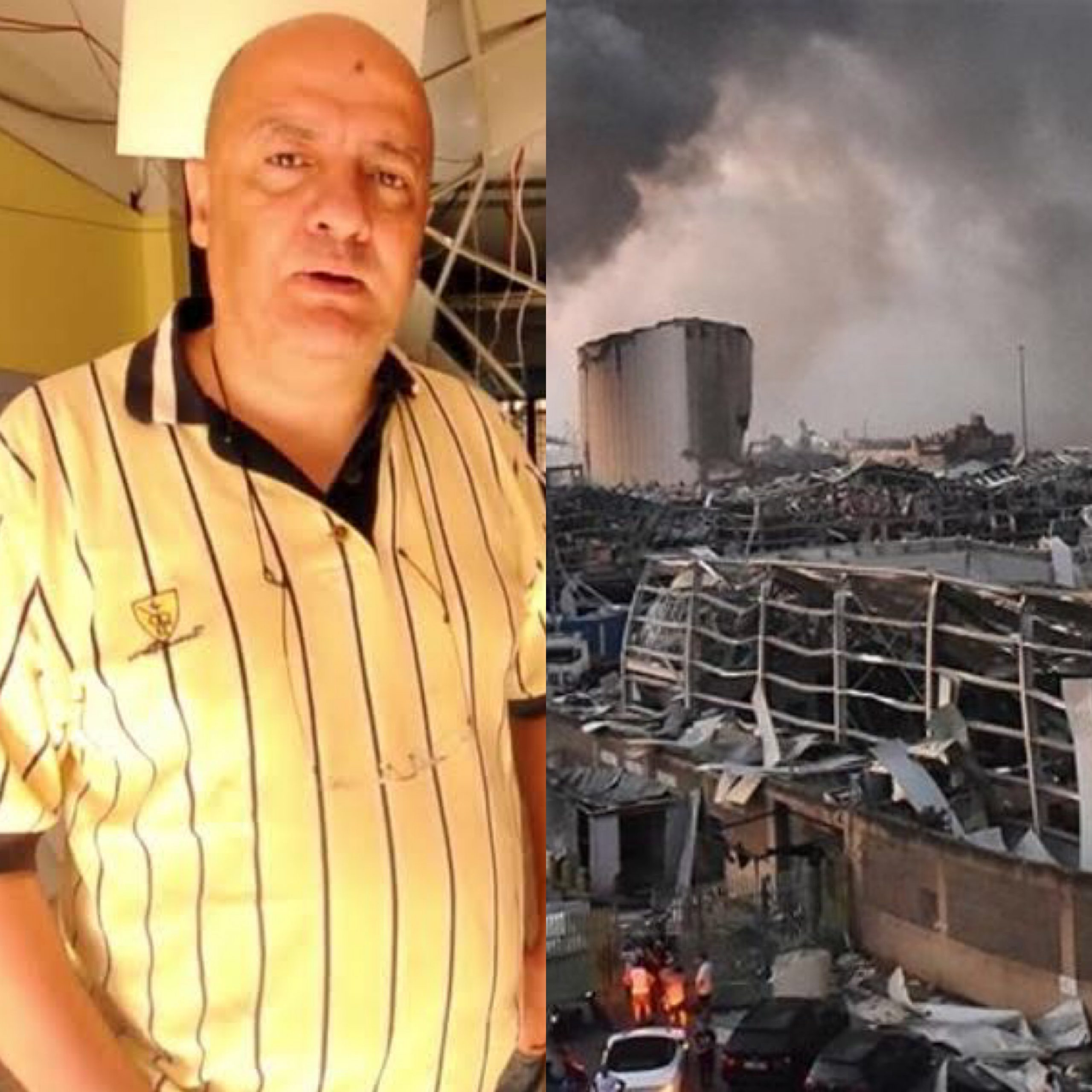 Lebanese pastor reveals how the Holy Spirit made him send everyone home before explosion