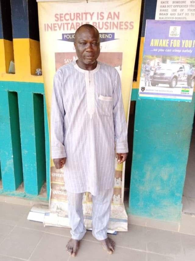 Village head arrested for defiling his teenage daughter in Ogun