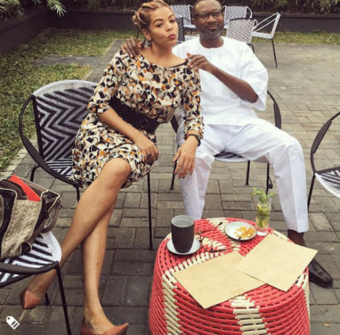 Otedola stages soirée in London for wife, Nana's 50th
