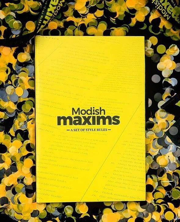 Modish Maxims (Style Bible) by Damilola Oke