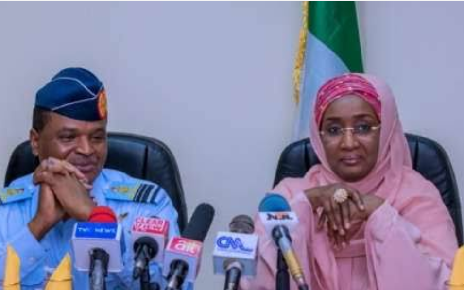 Buhari's Chief of Air Staff marries Humanitarian Affairs minister