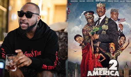 Davido to feature in 'Coming To America 2'