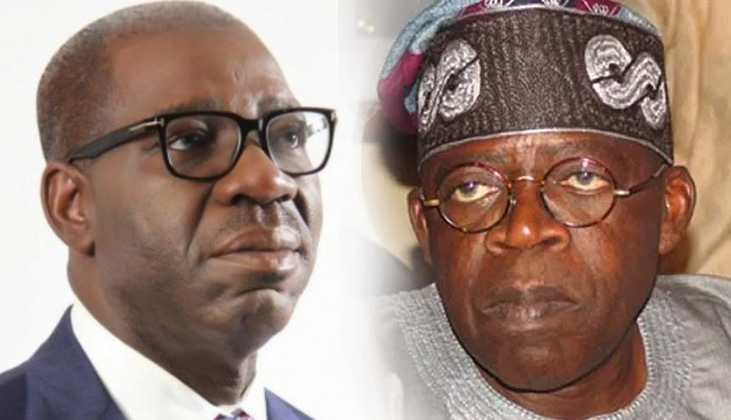 Obaseki doesn't deserve your votes, reject him, Tinubu tells Edo voters