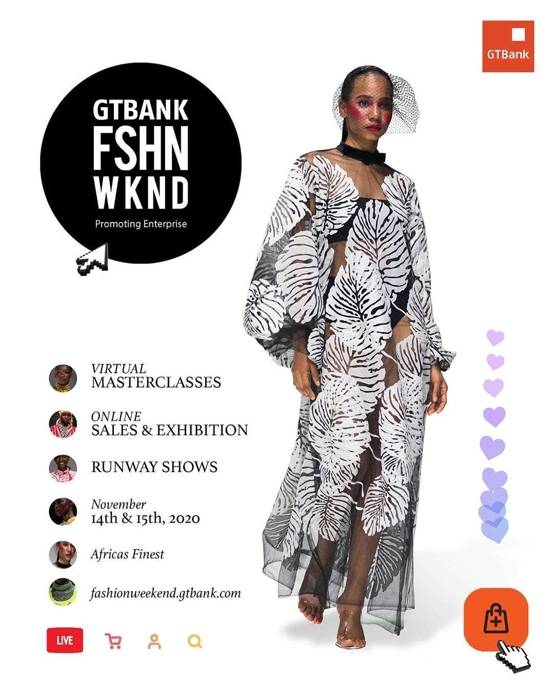 GTBank Fashion Weekend returns for the 5th year, to hold Nov. 14 – 15