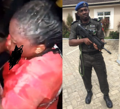 Police arrest officer who shot his girlfriend in the mouth