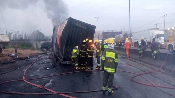 No casualty as tanker explodes on Otedola bridge