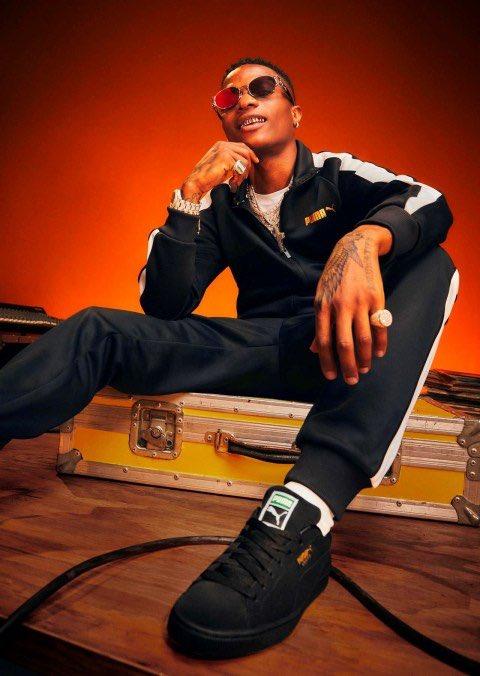 Puma announces Wizkid as new face of suede classics range