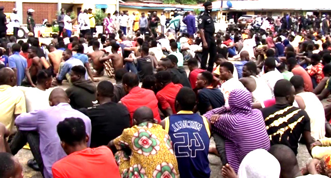 Police arrest over 200 suspected looters in Lagos