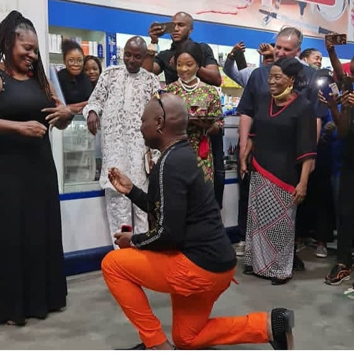 Charly Boy proposes to wife, Diane 4th time in 45 years