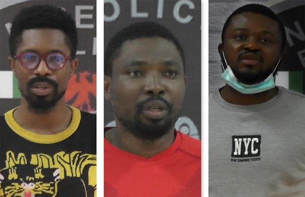 Three Nigerians declared wanted by Singapore interpol arrested in Lagos