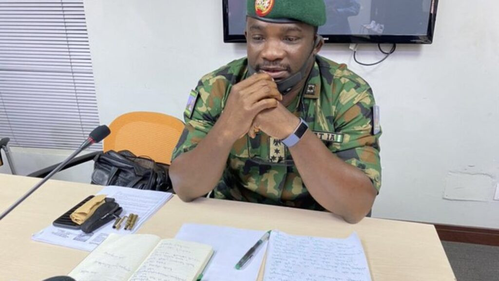 Nigerian army admits taking live bullets to Lekki tollgate  + why they initially denied going there