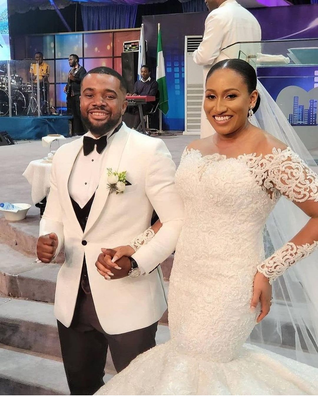 Actor, William Uchemba ties the knot with partner, Brunella Oscar