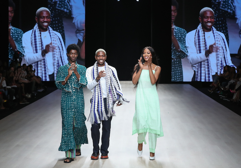 Ize emerges winner of ARISE Fashion Week's $100,000 Star Prize