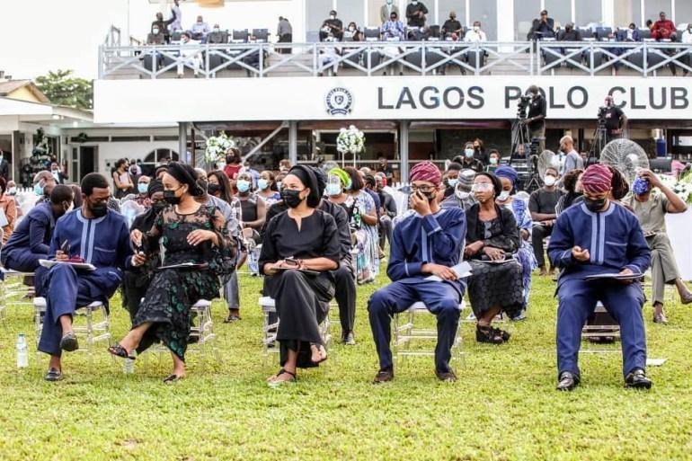 Lagos Polo Club, Ikoyi bids late Dapo Ojora farewell with a service of songs