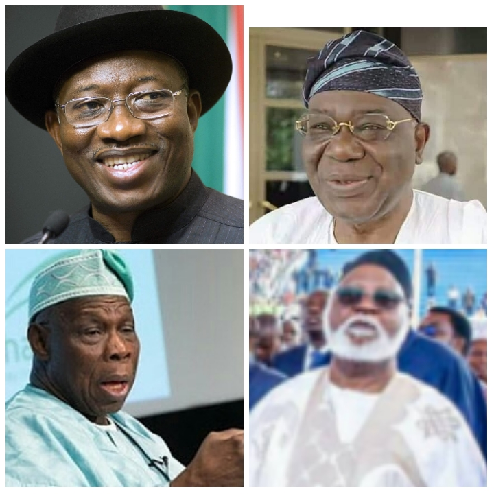 Nigeria to spend N7.8 billion on Obasanjo, Jonathan, others in 2021