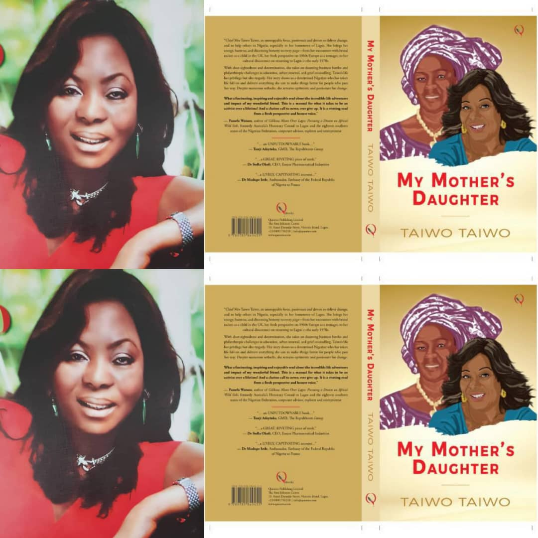 Chief Mrs Taiwo unveils autobiography to mark her 70th birthday
