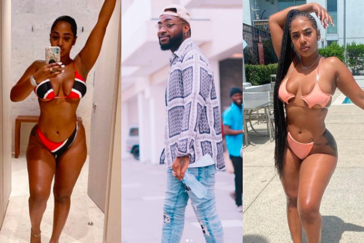Davido ends things with Chioma, now dating American model, Mya Yafai