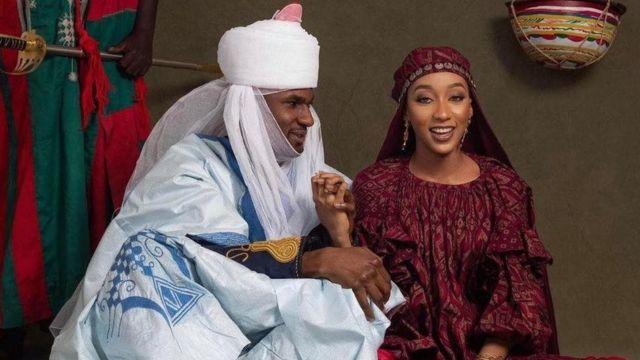 Customized iPhone, iPad gadgets shared as souvenirs at Buhari's son's wedding (PHOTOS)