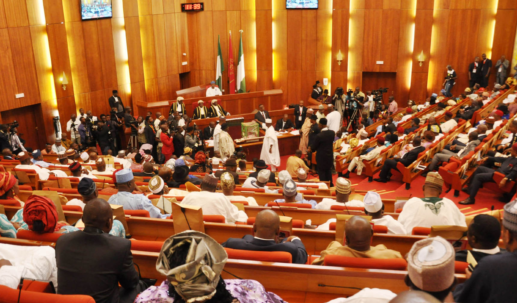 Senate makes U-turn, passes bill to allow for electronic voting, transmission of result