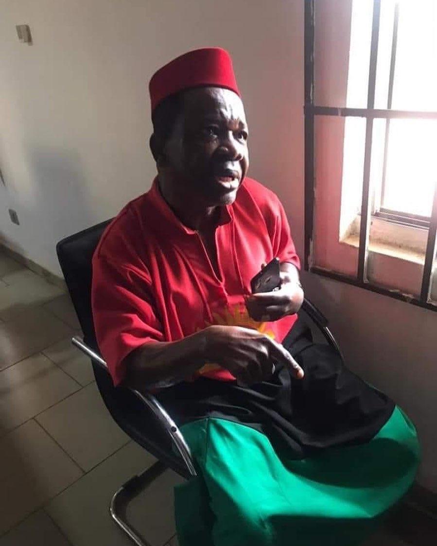 Chiwetalu Agu regains freedom after spending one night in army custody (Video)