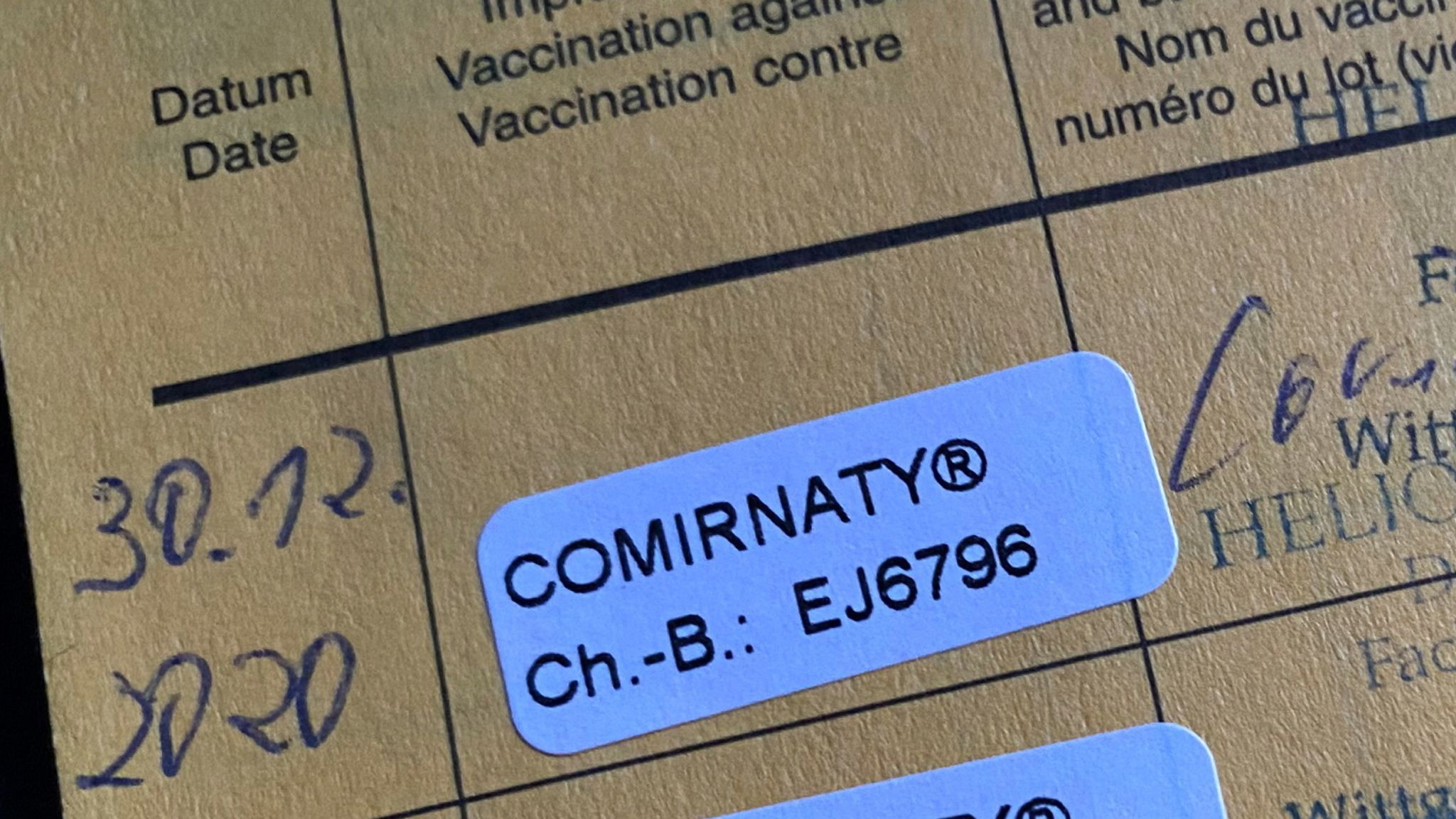 Nigeria missing from UK's list of recognised Covid-19 vaccine certificates