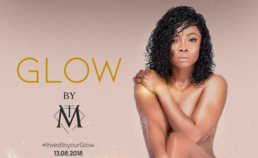 Toke Makinwa causes commotion for going nude to promote new product