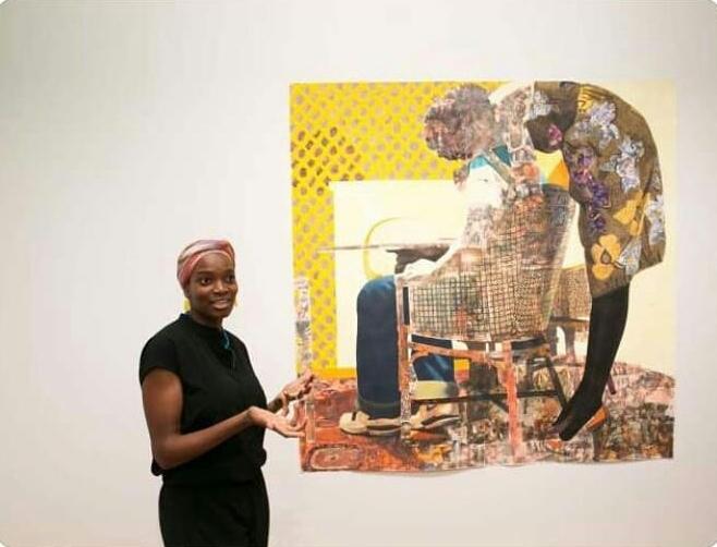 Late Dora Akunyili's daughter, Njideka sells one of her paintings for N1.2bn