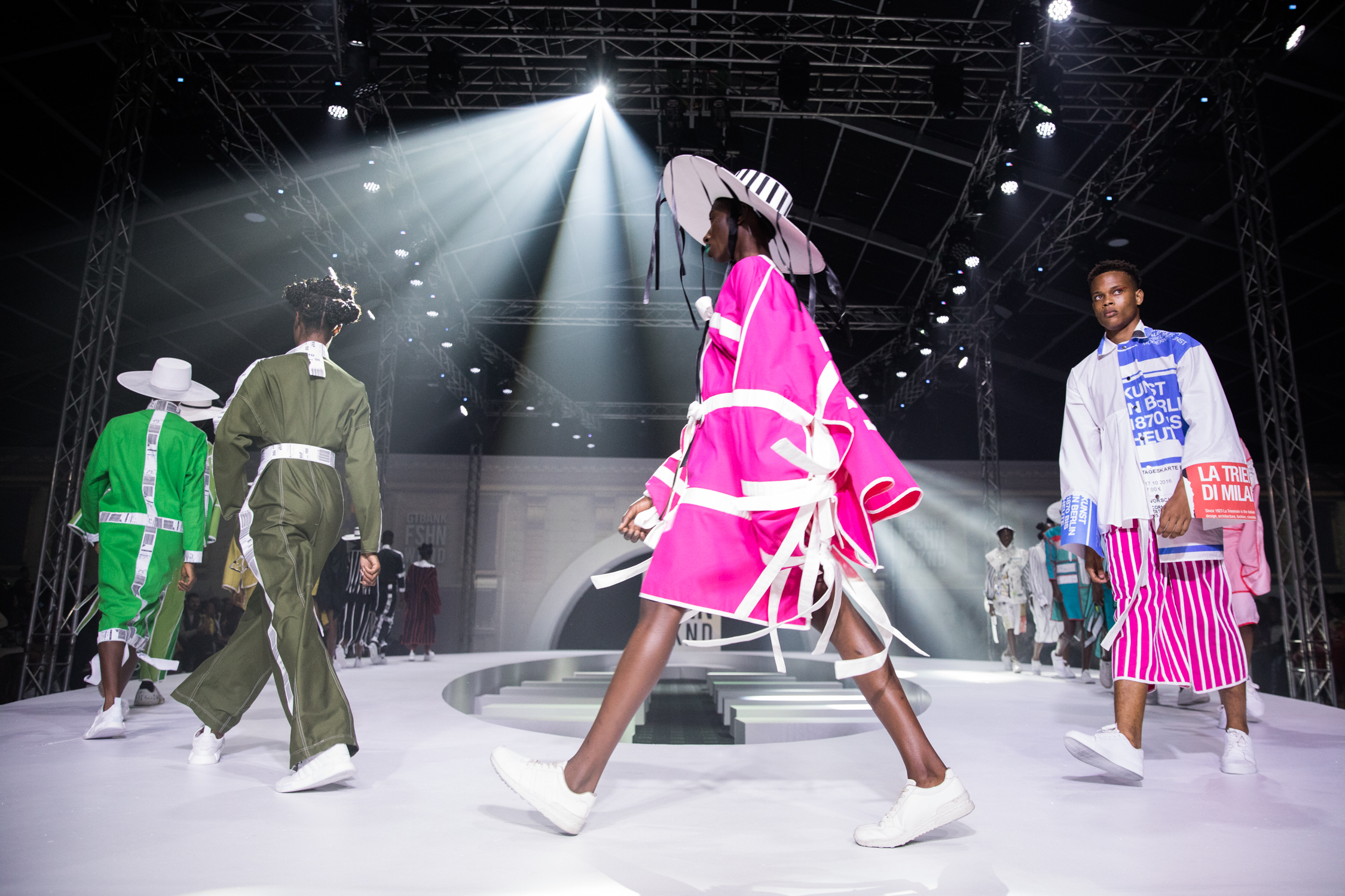Review of runway looks from the 2018 GT Bank fashion weekend