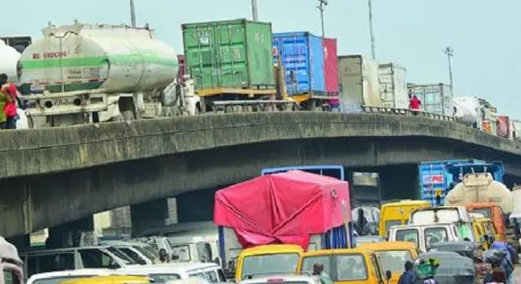 Tankers, trailers that disappeared for Buhari's Lagos visit, 'magically' re appear