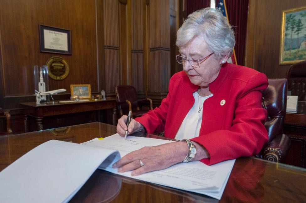 Alabama signs bill for child sex offenders to undergo chemical castration