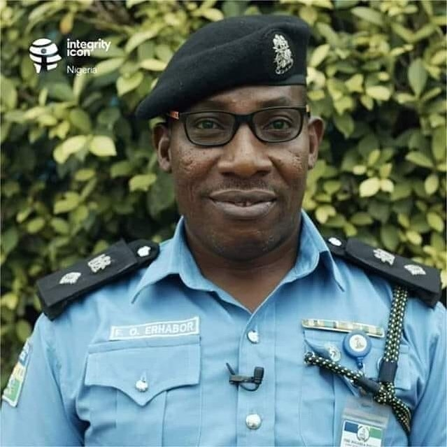 Meet CSP Francis Osagie Erhabor, police officer who has never taken a bribe