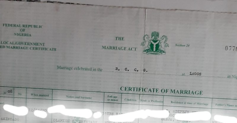 FG using marriage certificate to target Christians – PFN