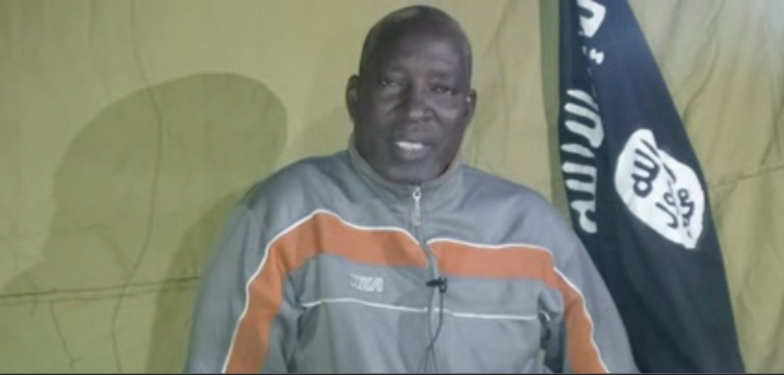 Video: CAN Chairman kidnapped by Boko Haram cries out from captivity