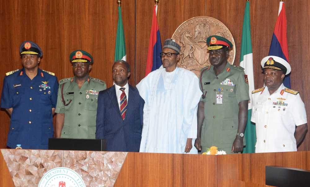 Boko Haram beneficiaries planning protests against service chiefs – Presidency