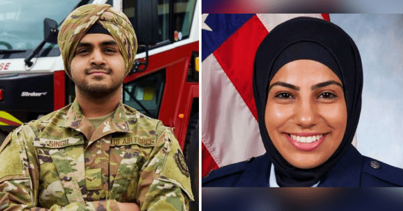 Turbans, hijabs now accepted in US air force