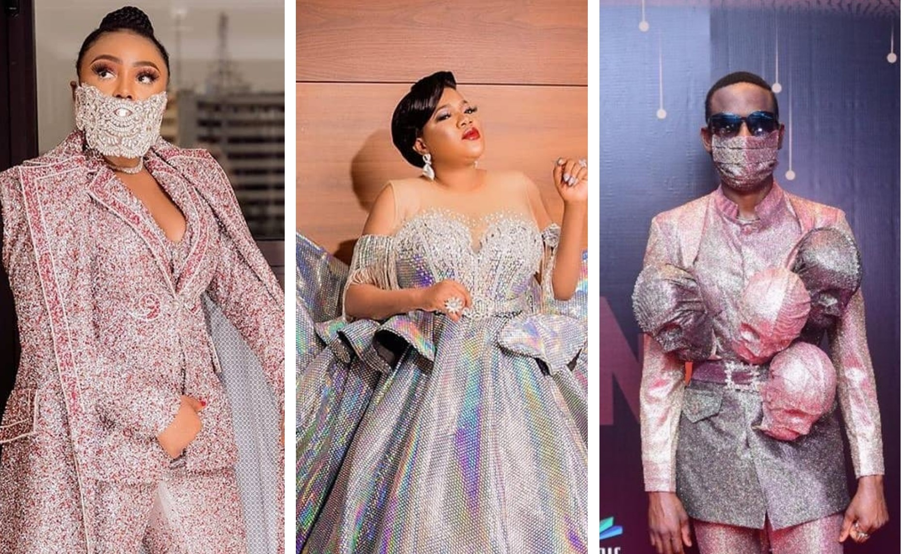 How Toyin Lawani styled highest number of people for #AMVCA2020
