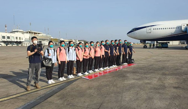 COVID-19: Chinese medical team arrives Nigeria