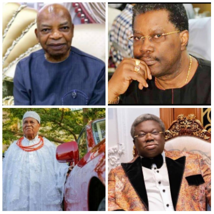 Four wealthy Nigerians who are Rolls Royce connoisseurs