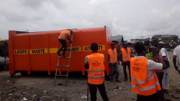 LAWMA contractors sacked for defrauding LASG of millions