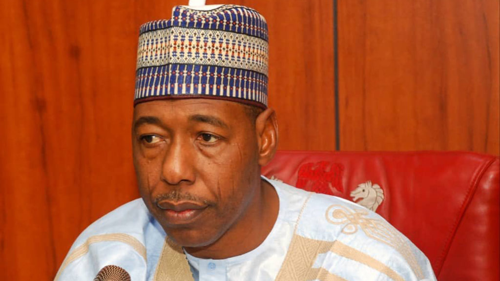 Zulum warns #EndSARS promoters, says Boko Haram started with youth protests